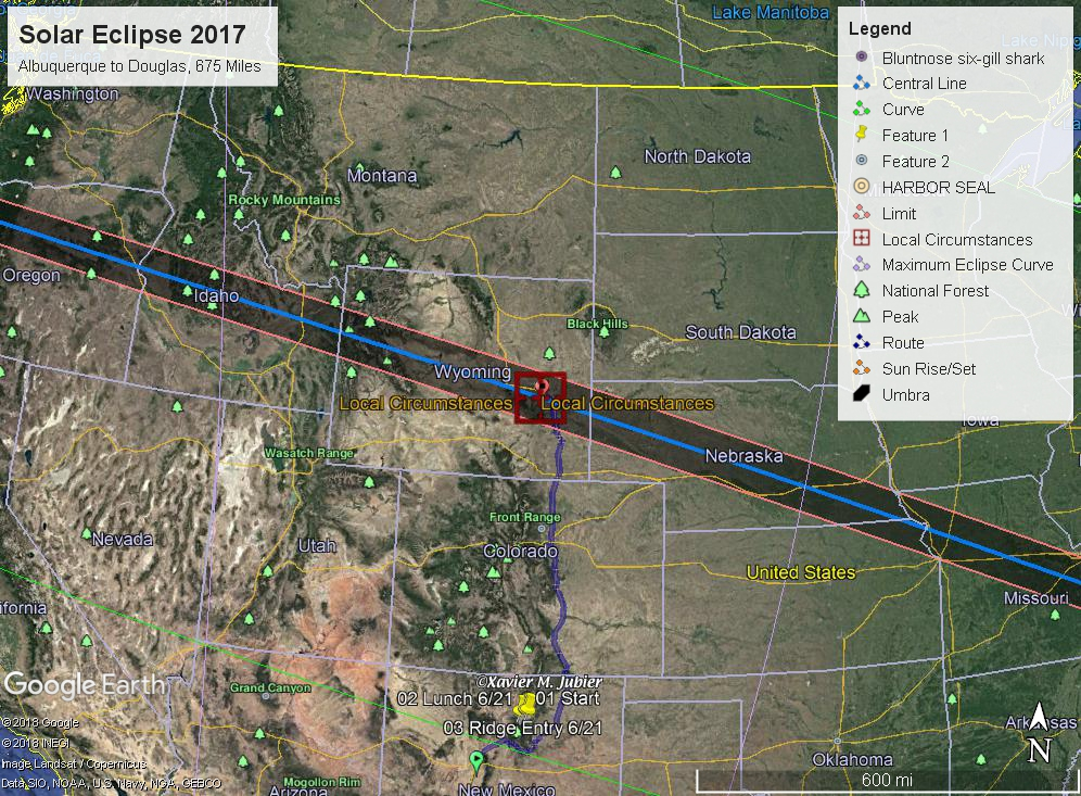 The Great American Eclipse One Year Later Face Of The Deep